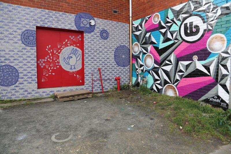 tiffaney bishop Collective mural projsct
