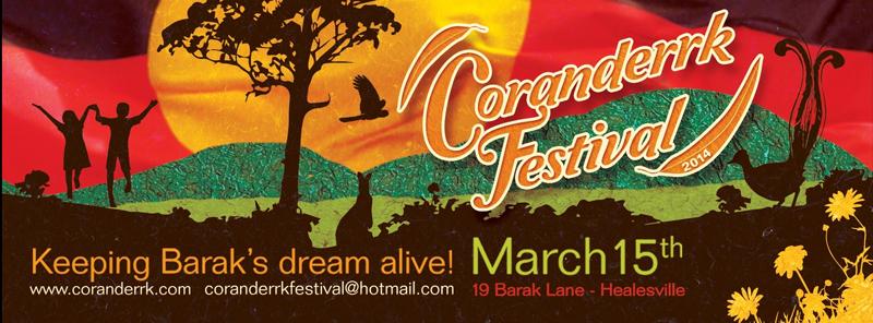 Coranderrk Festival 2014