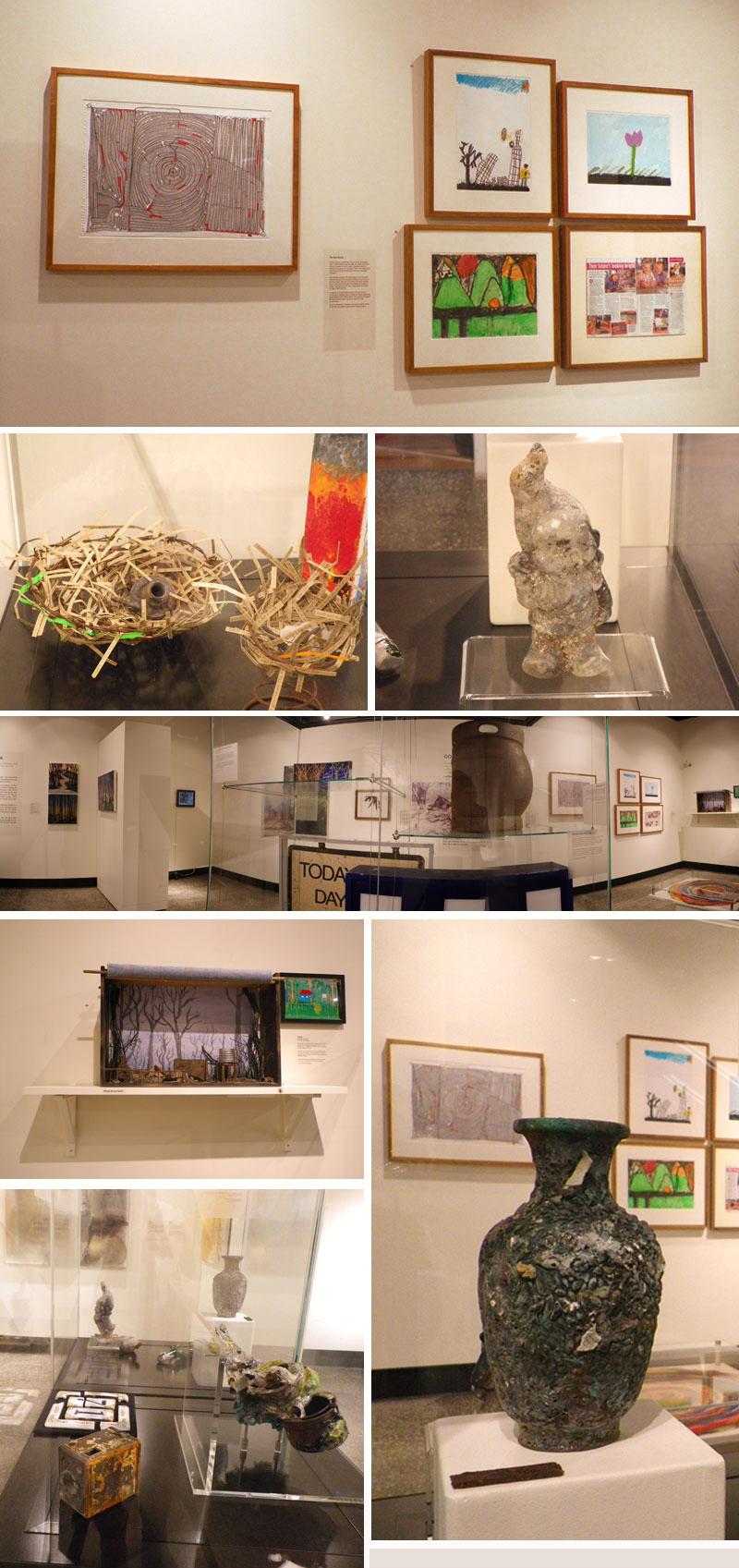 Black Saturday exhibition at Yarra Ranges Regional Museum