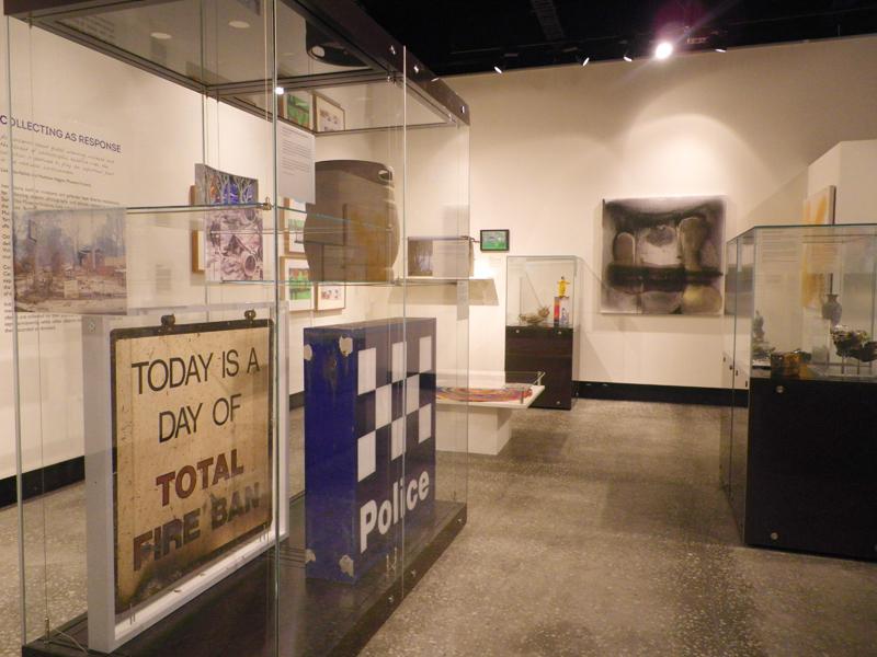 Balck Saturday exhibition at Yarra Ranges Regional Museum