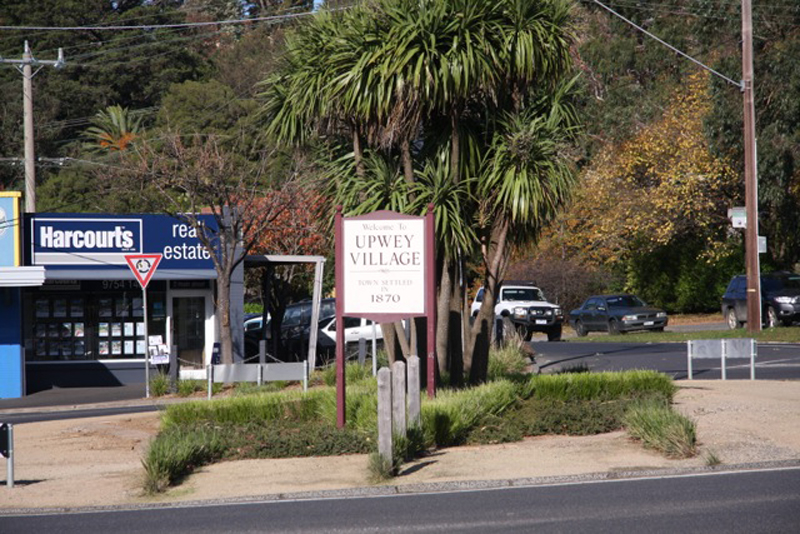 upwey village sign