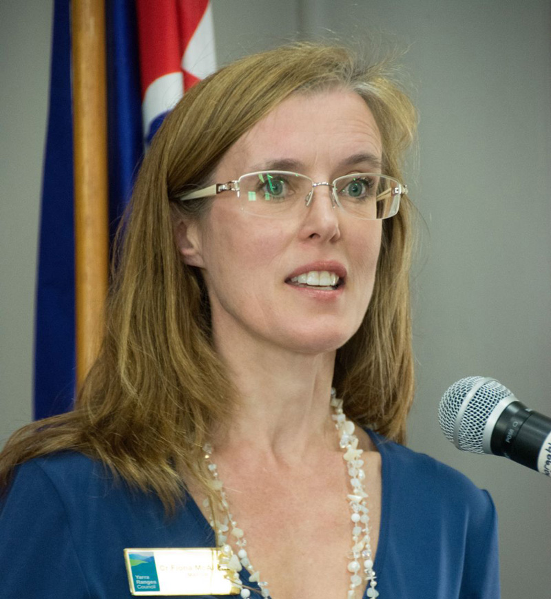 Cr Fiona McAllister