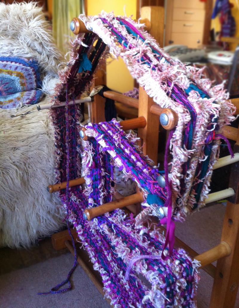Isabel Foster loom
