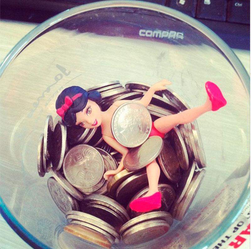PWP Tecoma 5 cents jar