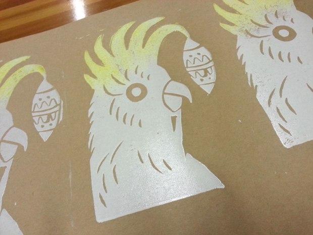 Cokatoo card print