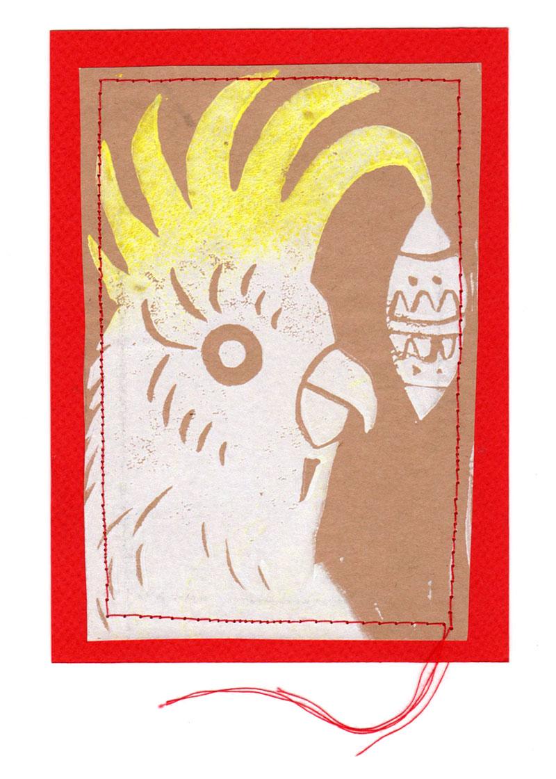 Hillscene Christmas card