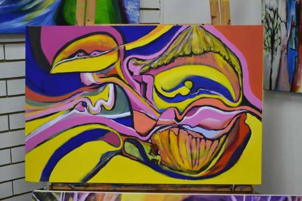 Bev Pergl's painting