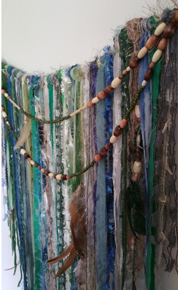 Melinda Wallis textile work