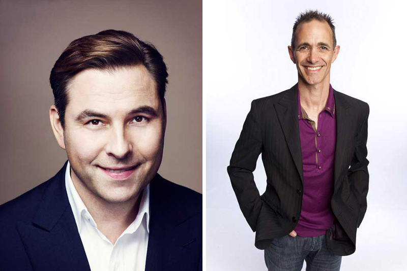 David Walliams and Andy Griffiths