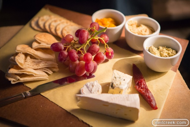 Hive cheese platter