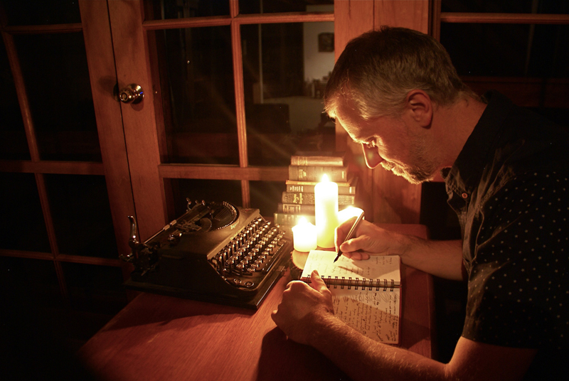 Cameron Semmens poetry by candlelight