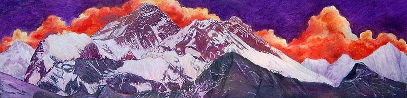 Gokyo 2 by Murray Lancaster