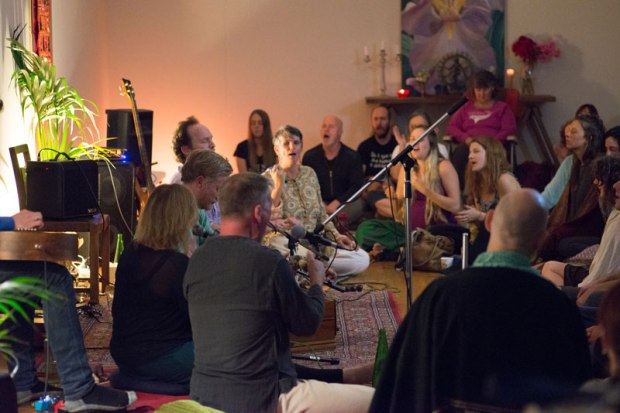 Kirtan in the hills