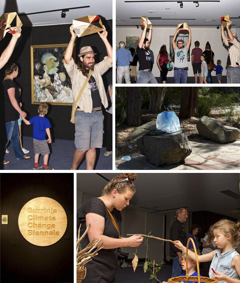 Burrinja Biennale collage