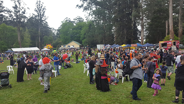 Halloween on the green Festival