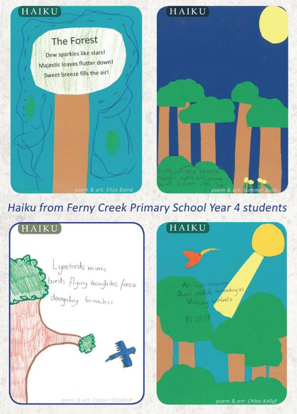 Ferny Creek Haiku